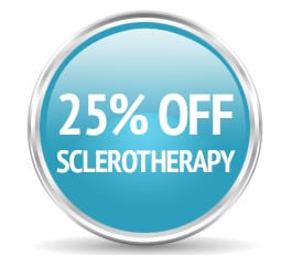 25% off sclerotherapy
