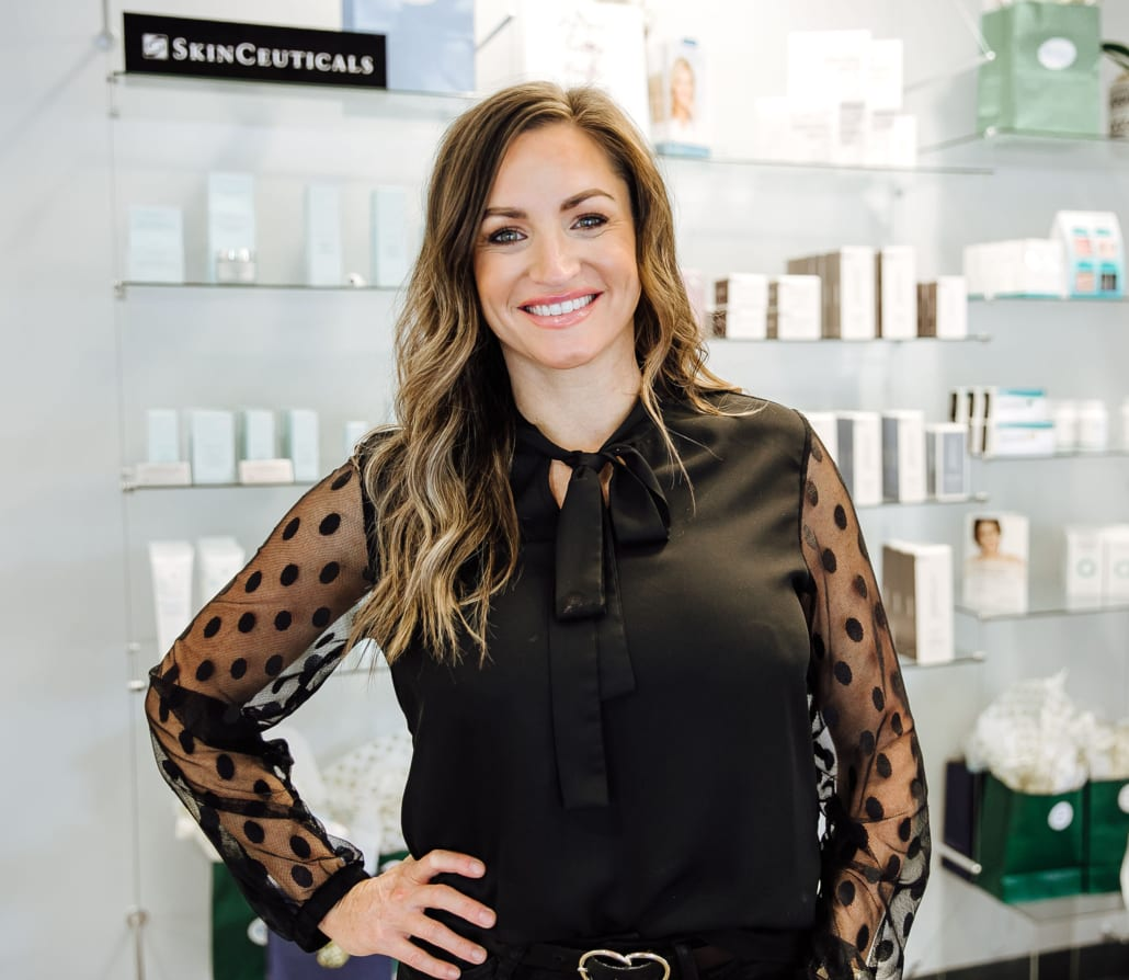 Courtney, member of the Renew Aesthetic top rated aesthetic team in Portland and Lake Oswego